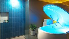 There's a New Float Therapy Studio in Mar Vista, but We Kind of Don't Want to Tell You About It - Los Angeles Magazine Deprivation Tank, Sensory Deprivation, Float Room, Flotation Therapy, Isolation Tank, Float Spa, Float Therapy, Meditation Retreat, Innovative Companies