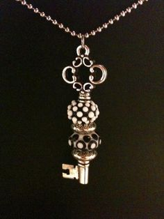 Found a skeleton key I can put my Lampwork beads on.