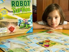 Learn Programming logic & thinking skills: Robot Turtles Board Game (Via The Grommet) Programming Games For Kids, Learn Programming, Computer Programming, Computer Coding, Computer Science, Computer Lab Lessons, Computer Basics, Family Game Night, Family Games