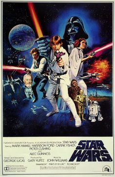 vintage everyday: Star Wars Theatrical Posters Around The World in 1977