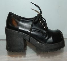 I owned a pair of these, and a pair of matching knee high boots =)