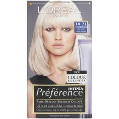 L'Oreal Recital Preference Stockholm Very Light Pearl Blonde 10.21