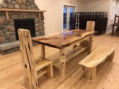 Redwood & cedar Banquet table