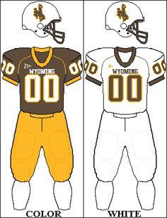 New Mexico Lobos Football Team Uniforms Wyoming Cowboys Football, College Football Helmets, Football Uniforms, Team Uniforms, Football Team, University Of New Mexico, San Jose, Sports, Denver Broncos