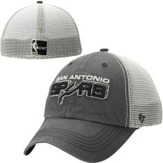 official photos 248d6 ad2cd San Antonio Spurs  47 Brand Caprock Canyon Flex Hat – Charcoal San Antonio  Spurs Hat