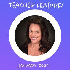 Our January Teacher Feature Kelly Bettencourt teaches Biology & Chemistry at Oak Ridge High School.