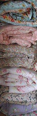 Vintage quilts & doonas....