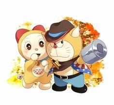 Dorami et Doraemon