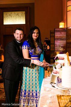 Cutting the cake scene Wedding Cake Cutting, Indian Wedding Cakes, Scene Photo, Saree, Treats, Fashion, Sweet Like Candy, Moda, Goodies