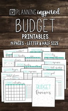 Details about Printable Weekly, Fortnightly, Monthly Budget Planner ...