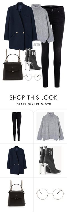 """""""Untitled #4268"""" by magsmccray ❤ liked on Polyvore featuring Object Collectors Item, MANGO, rag & bone, Fendi, Nasty Gal and M&Co"""