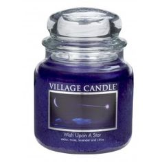 Village Candle Medium Jar - Wish Upon A Star