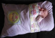My Baby Snuggle Bag ~ uses 2 pillowcases ~ very rough instructions...