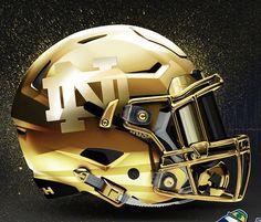 Notre Dame Football, Nd Football, College Football Uniforms, Collage Football, Football Is Life, Football Memes, School Football, Indiana Football, Football Jerseys