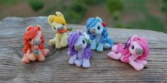 Sweet Friends - tiny ponies - Sugar Collection by sweetfriends-es on DeviantArt Crafts For Kids, Arts And Crafts, Cute Ponies, Clay Figures, Polymer Clay Crafts, Unicorns, Smurfs, Pony, Craft Ideas