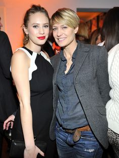 69c59f763a3a Robin Wright looked happy to show off her daughter