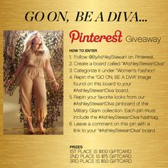 #AshleyStewartDiva Pinterest Contest. Leave the link to your #AshleyStewartDiva board on THIS PIN.  Read Official Rules here: http://ashleystewart.com/pinitrules