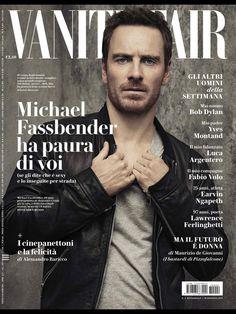 Michael Fassbender: Vanity Fair, 2017, Italy