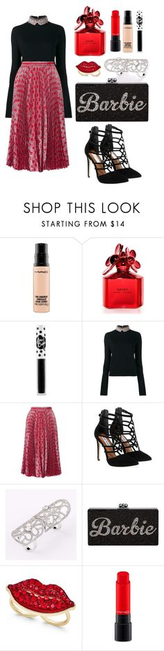 """Untitled #149"" by ivanov1234491 ❤ liked on Polyvore featuring MAC Cosmetics, Marc Jacobs, Lime Crime, Marni, Gucci, Steve Madden and Thalia Sodi"