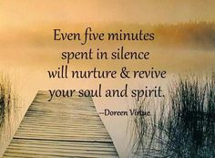 The power of silence :)
