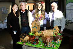 We look forward each year to the amazing gingerbread creations of Ruth Glass, wife of former Walmart CEO and current Kansas City Royals owner David Glass. The detail is staggering! This year's village absolutely captivates the imaginations of our kids. What a wonderful holiday tradition!