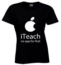 "This is for all the awesome Teachers out there, show your pride and get this Limited Edition Teacher's T-Shirt Design before they are all gone. Not sold in stores, made of 100% cotton and only available for a limited time. Click the ""Buy It Now"" Button, select your size and style (with the drop-down menu) and get yours while supplies last!"