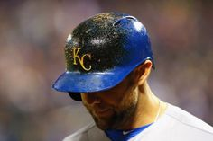 Alex Gordon, KC/// WS Game 3 at NYM, Oct 30, 2015  [mike stobe/getty images]