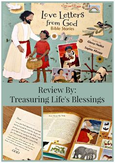 Treasuring Life's Blessings: Love Letters from God: Review and Giveaway!
