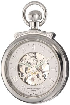 Introducing CharlesHubert Paris 3903W Classic Collection Open Face Mechanical Pocket Watch. Great product and follow us for more updates!