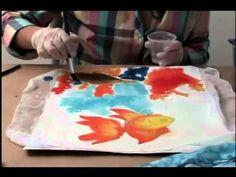 Tv Transamerica - Pintura em seda (canga) - YouTube