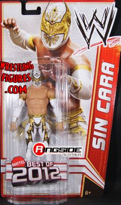 """RINGSIDE COLLECTIBLES WWE Toys, Wrestling Action Figures, Jakks Pacific, Classic Superstars Action F: SIN CARAWWE SERIES """"BEST OF 2012""""WWE Toy Wrestling Action Figure"""