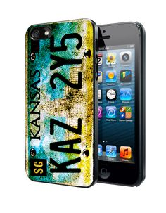 Supernatural License Plate New Artwork Samsung Galaxy S3 S4 S5 Note 3 Case, Iphone 4 4S 5 5S 5C Case, Ipod Touch 4 5 Case