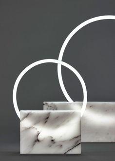 Lampes en marbre par Bloc Studios - Journal du Design