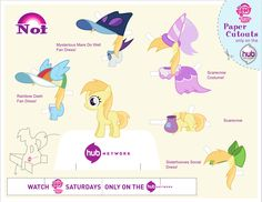 my little pony princess cadence paper cut out - Google Search
