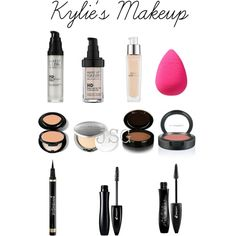 kylie jenner's makeup must haves. I'll have to try the mascara Love Makeup, Makeup Inspo, Makeup Inspiration, Makeup Tips, Makeup Looks, Makeup Ideas, All Things Beauty, Beauty Make Up, Hair Beauty