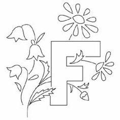 Pattern Detail | F for Flowers | Needlecrafter