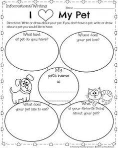 Free Pet Worksheet | Classroom pets, Preschool worksheets ...