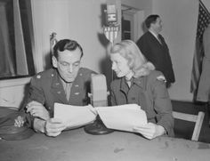 American dance band leader Glenn Miller at the microphone during a radio broadcast from London, 1944. Glenn Miller arrived in Britain with his United States Army Air Force band in June 1944. They immediately began a busy schedule of concerts, many intended for broadcast on the BBC's new Allied Expeditionary Forces programme. On 15 December 1944, Miller left England for Paris, but the aircraft in which he was travelling disappeared while flying over the English Channel.