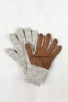 Ragg Wool Gloves with Leather | United By Blue - 2