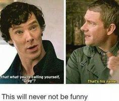 Always be funny.