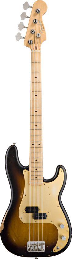 Fender Bass Guitars Road Worn 50's Precision Bass