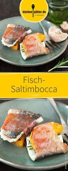 Zartes Fischfilet mit fruchtigem Orangenaroma, feinstem Parmaschinken wird in sogenannte Saltimbocca gerollt und auf dem Raclette-Grill angebraten.