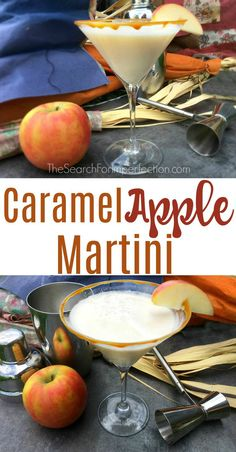 Pretty sure I could drink a caramel apple martini year round!