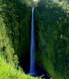 Waterfall, Big Island, Hawaii