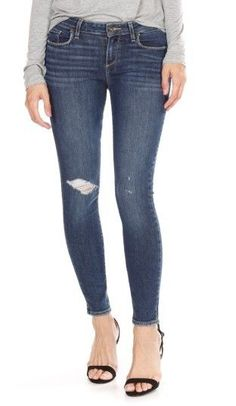 2cc7d5d9a5 Women s Paige Verdugo Ripped Ankle Skinny Jeans