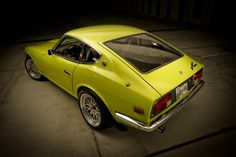 Amazing restoration of a Datsun 240Z...craftsmanship is always appreciated.