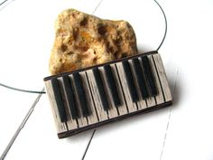 Piano necklace lover, Piano vintage style keyboard, Necklace piano for her, Piano teacher gift, Music piano jewelry, Gift for girlfriend https://www.etsy.com/listing/525854394/piano-necklace-lover-piano-vintage-style?utm_campaign=crowdfire&utm_content=crowdfire&utm_medium=social&utm_source=pinterest