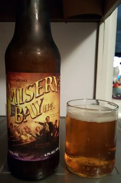 Erie Brewing Misery Bay (A)IPA is 6.5 ABV and 75 IBU.  The appearance is orange amber and the nose citrus hop.  The palate is balanced well with the sweet malt and citrus pineapple hop.  The overall mouthfeel, carbonation and texture are drinkable and moderate but creamy.  It's impossible to really stand out with an AIPA but this is pretty darn good and one I'd certainly recommend.  This is my third Erie Brewing, falling in between the decent Presque Isle Pils and the outstanding Railbender