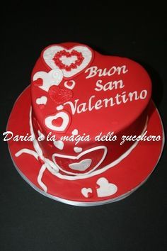 Torta cuore #Heart cake #Torta San valentino #Valentine's day cake # Valentine's day #Valentine cake
