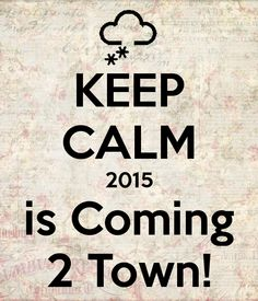 Let the countdown begin! Out with the old and in with the new, 2015 will be here soon!! #countdown #newyear
